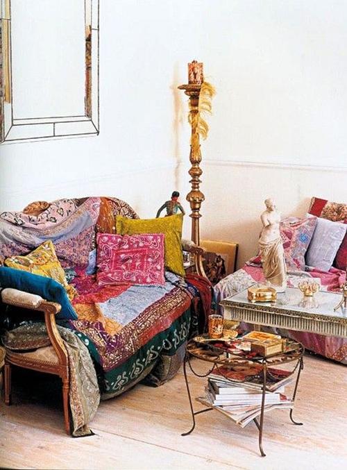 Decoraci n e ideas para mi hogar estilo boho chic - Decoracion boho chic ...