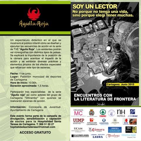 """Programa de las Jornadas """"ENCUETROS CON LA LITERATURA DE FRONTERA"""""""